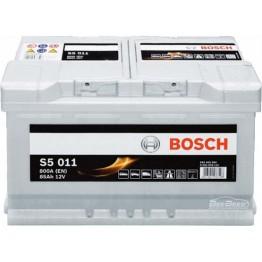 Аккумулятор автомобильный Bosch S5 Silver Plus 85Ah (0 092 S50 110)
