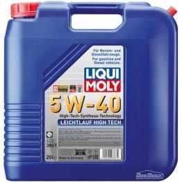 Моторное масло Liqui Moly Leichtlauf High Tech 5w-40 3867 20 л