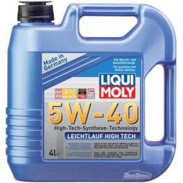 Моторное масло Liqui Moly Leichtlauf High Tech 5w-40 2595 4 л