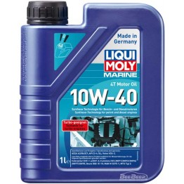 Моторное масло для лодок 4Т Liqui Moly Marine 4T Motor Oil 10w-40 25012 1 л