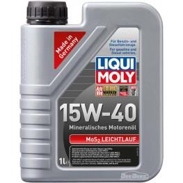 Моторное масло Liqui Moly MoS2 Leichtlauf 15w-40 1932 1 л