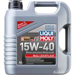 Моторное масло Liqui Moly MoS2 Leichtlauf 15w-40 1949 4 л