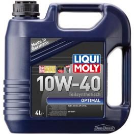Моторное масло Liqui Moly Optimal 10w-40 3930 4 л