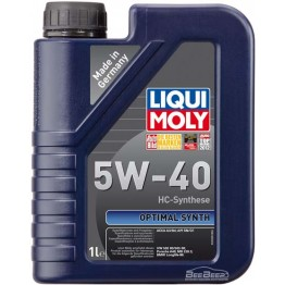 Моторное масло Liqui Moly Optimal Synth 5W-40 3925 1 л