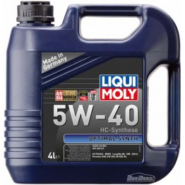 Моторное масло Liqui Moly Optimal Synth 5W-40 3926 4 л