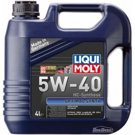 Моторное масло Liqui Moly Optimal Synth 5W-40 3926 4 л