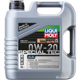 Моторное масло Liqui Moly Special Tec AA 0w-20 8066 4 л