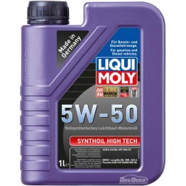 Моторное масло Liqui Moly Synthoil High Tech 5w-50 9066 1 л