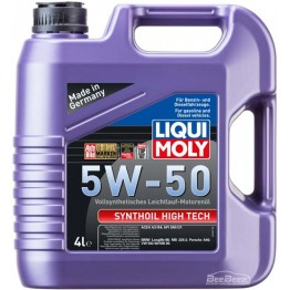 Моторное масло Liqui Moly Synthoil High Tech 5w-50 9067 4 л