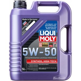 Моторное масло Liqui Moly Synthoil High Tech 5w-50 9068 5 л