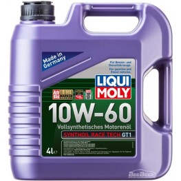 Моторное масло Liqui Moly Synthoil Race Tech GT1 10w-60 7535 4 л
