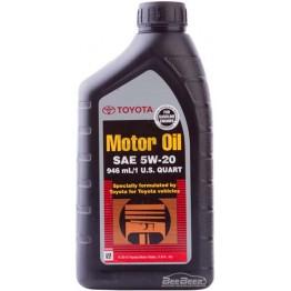 Моторное масло Toyota Motor Oil 5W-20 00279-1QT20 946 мл