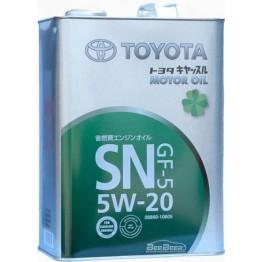 Моторное масло Toyota Motor Oil SN GF-5 5W-20 08880-10605 4 л