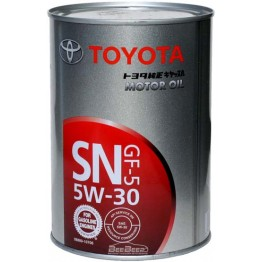 Моторное масло Toyota Motor Oil SN GF-5 5W-30 08880-10706 1 л