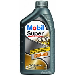 Моторное масло Mobil Super 3000 X1 5w-40 1 л