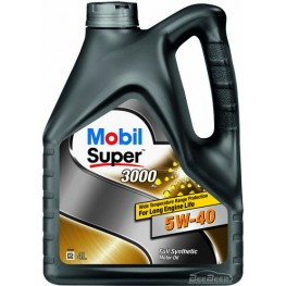 Моторное масло Mobil Super 3000 X1 5w-40 4 л
