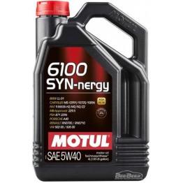Моторное масло Motul 6100 Syn-nergy 5w-40 368350/107978 4 л
