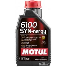 Моторное масло Motul 6100 Syn-nergy 5w-40 368311/107979 1 л