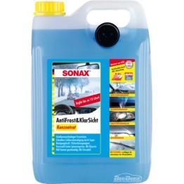 Омыватель стекла зимний «Концентрат» Sonax Antifreeze & Clear View Concentrate 332505 5 л
