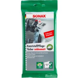 Салфетки для пластика матового Sonax KunststoffPflege Tucher Matt 415800 10 шт (упаковка)
