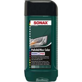 Полироль с воском «Зеленый» Sonax Polish & Wax Color Green 296741 250 мл