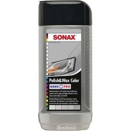 Полироль с воском «Серебристый» Sonax Polish & Wax Color Silver 296341 250 мл