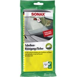 Салфетки для стекла Sonax Scheiben Reiningungs Tucher 415000 10 шт (упаковка)