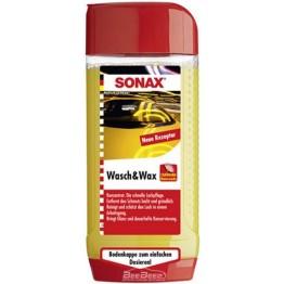 Шампунь с воском для автомобиля Sonax Wasch & Wax 313200 500 мл