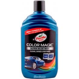 Цветообогащённый полироль синий Turtle Wax Color Magic Blue 52709 500 мл