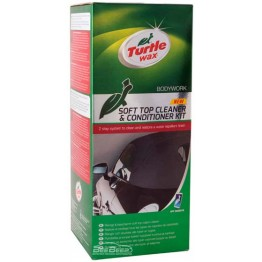 Набор для ухода за мягкой крышей кабриолета Turtle Wax Soft Cleaner & Conditioner KIT 51772