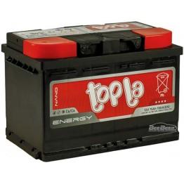 Аккумулятор автомобильный Topla Energy 75Ah L+