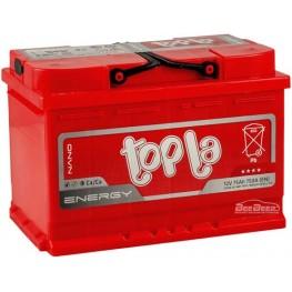 Аккумулятор автомобильный Topla Energy 75Ah R+