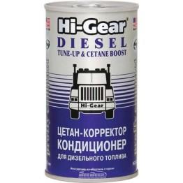 Цетан-корректор и кондиционер для дизельного топлива Hi-Gear HG3435 325 мл