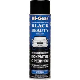 Экстраэластичное антикоррозийное покрытие с резиновым наполнителем (аэрозоль) Hi-Gear HG5756 454 г